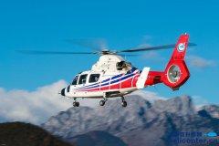 AC312E直升机在海拔3293米的泸沽湖机场完成高原试飞